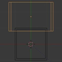 Déplacer l'objet le long de l'axe Y