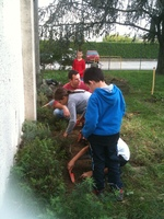 * Projet jardin à l'école