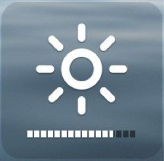 régler luminosité écran
