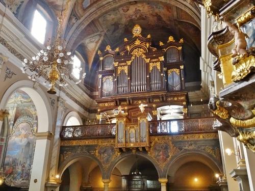 Autour de l'église des Franciscains à Ljubljana en Slovénie (photos)