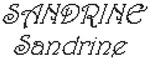 Dictons de la Ste Sandrine + grille prénom  !