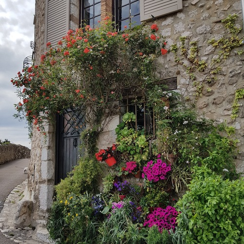 Saint-Paul-de-Vence on French Riviera