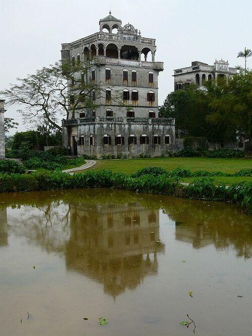 Kaiping; village zili reconstitué par les chinois;suite