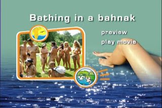 Naturist Freedom - Bathing in a Bahnak. DVD.