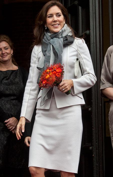 Mary inaugure