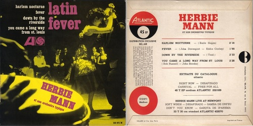 HERBIE MANN - LATIN FEVER