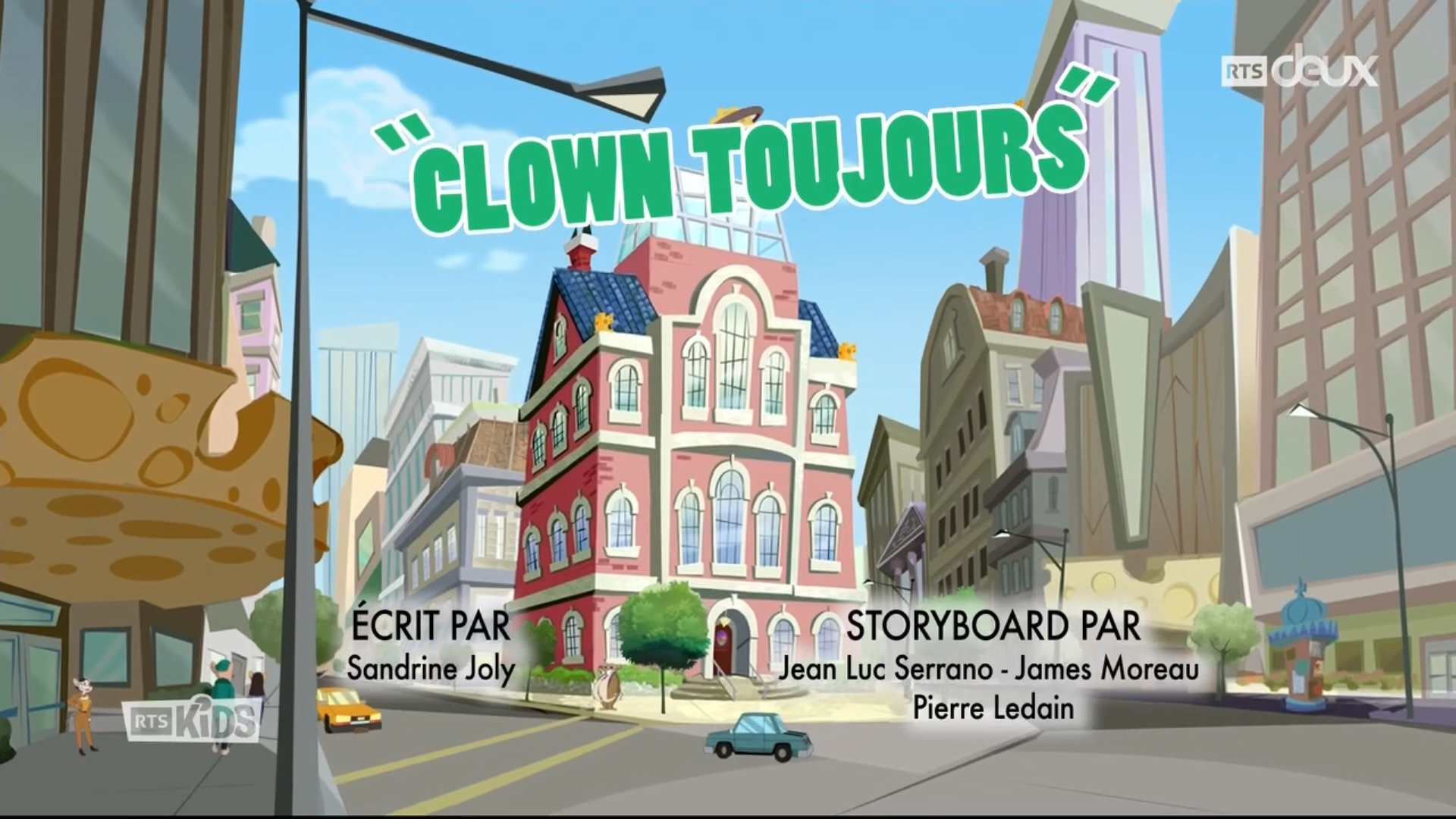 Geronimo Stilton - 3x?? - Clown toujours