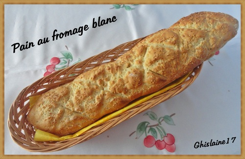 Pain au fromage blanc