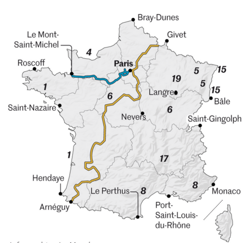 Cyclotourisme : l'été où les Français ont roulé