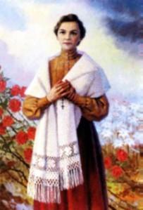 Bienheureuse Angèle Salawa, tertiaire franciscaine à Cracovie († 1922)