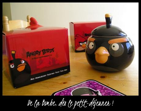 Mug Black Angry Bird