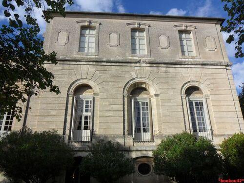 Echappée belle Avignonnaise. L'abbaye Saint-André.
