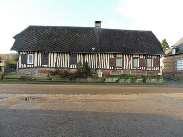 Auzouville-sur-Saâne - Chaumière (XVIIIe et XIXe s.)