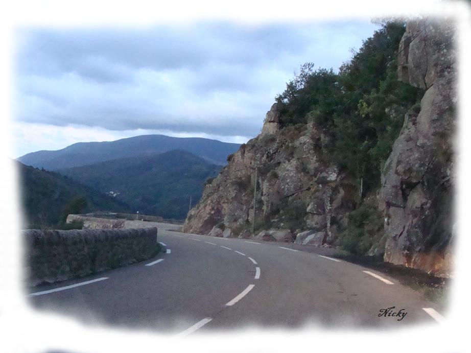 Photos sur la route de l'Ardèche