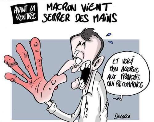 C'est la rentrée de Macron