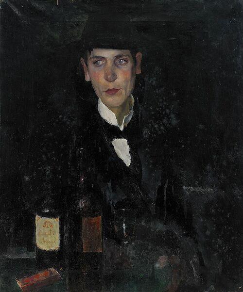 Portrait de Einar Forset par Axel Fridel n° 16