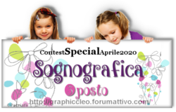 """Tag di partecipazione e Premi Contest ricevuti dal Forum: """"CleoGraphic"""" 2020"""