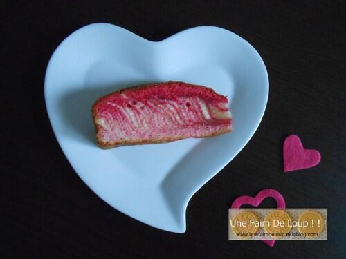 Le Zebra Love Cake