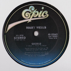 Mary Wells - Gigolo
