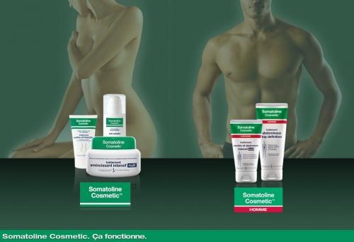 Somatoline Cosmetics - Une gamme minceur complète pour lui et pour elle