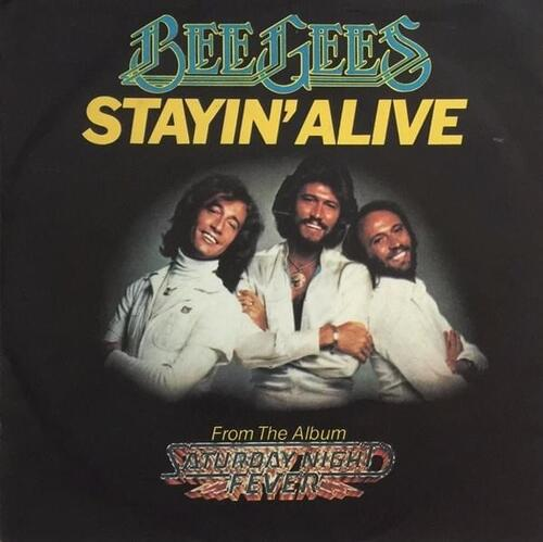 The Bee Gees. Stayin Alive