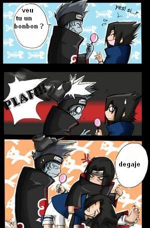cooment attraper sasuke