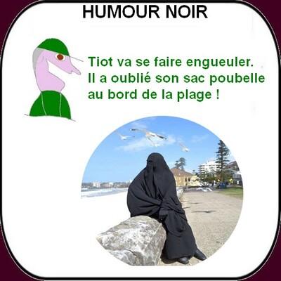 """Un peu d'humour noir avec """"La France qui marche sur la tête (acte 11)""""."""