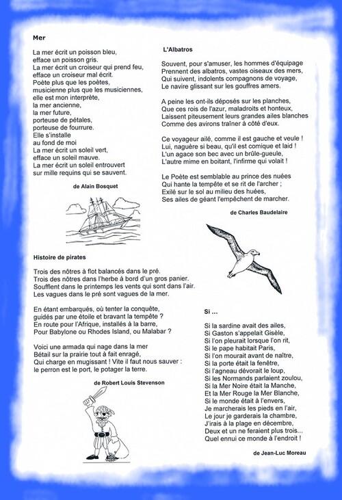 La mer en poésie (1)