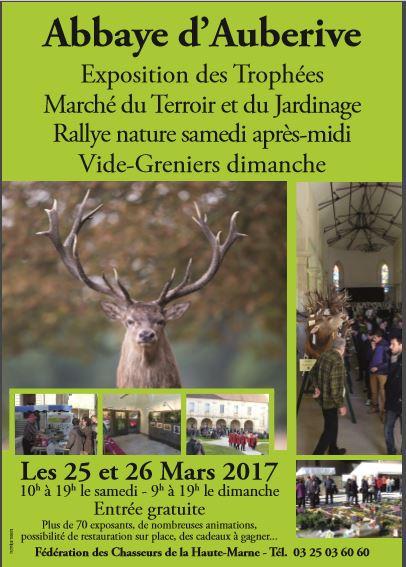 Exposition à Auberive