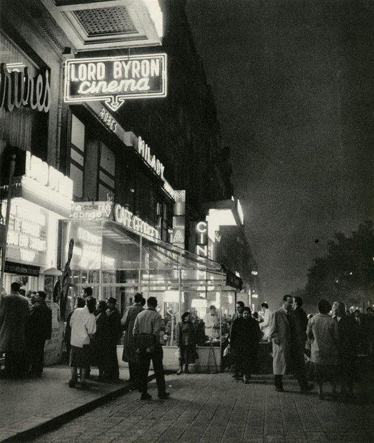 Box-office du Lord-Byron - De 1934 à 1942