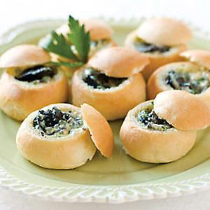 Blog de lisezmoi :Hello! Bienvenue sur mon blog!, briochettes à l'escargot et beurre persillé