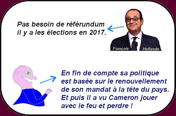 Hollande et le brexit à la française c'est l'humour décalé du dimanche