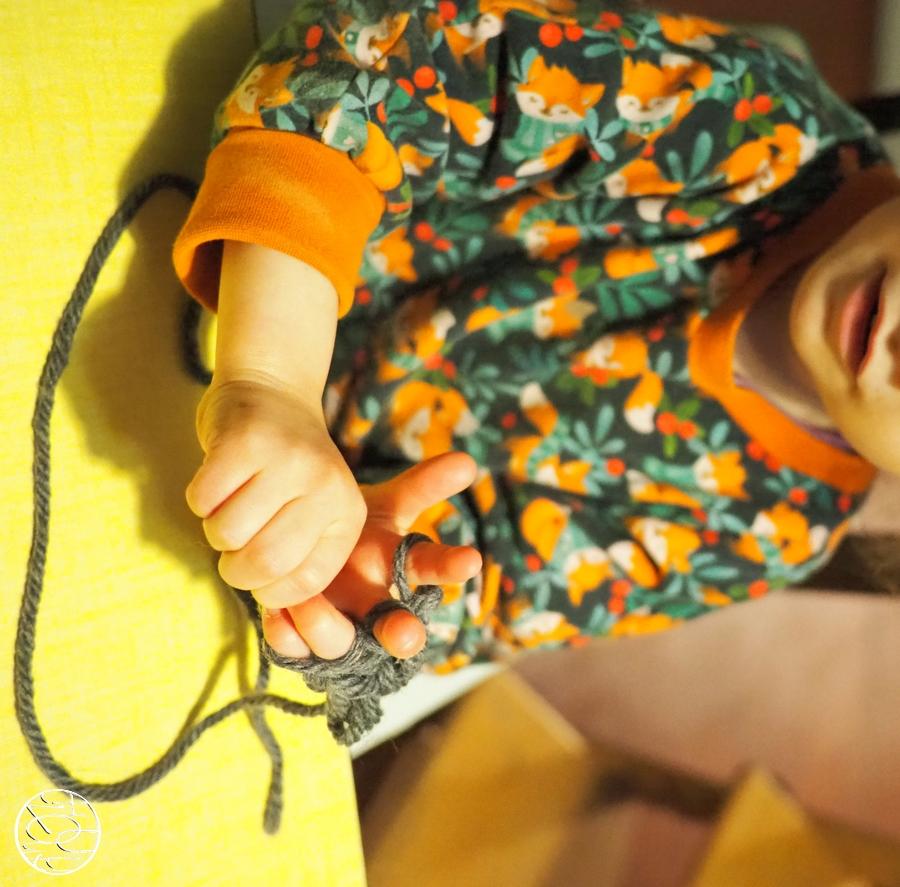 Le tricot à doigt pour les enfants