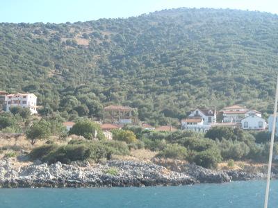 Une journée en mer, vers Céphalonie en mer Ionienne