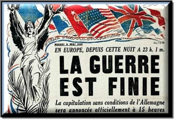 8 mai 1945... C'était un jour d'allégresse !