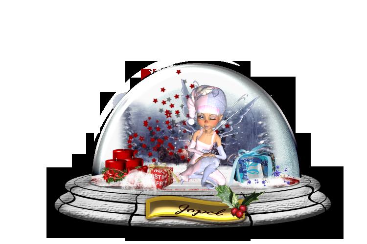 Globes de Noel