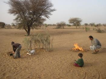 mauritanie piste kiffa kayes premier bivouac 2