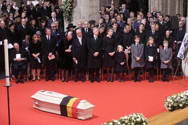 Funérailles de la reine Fabiola