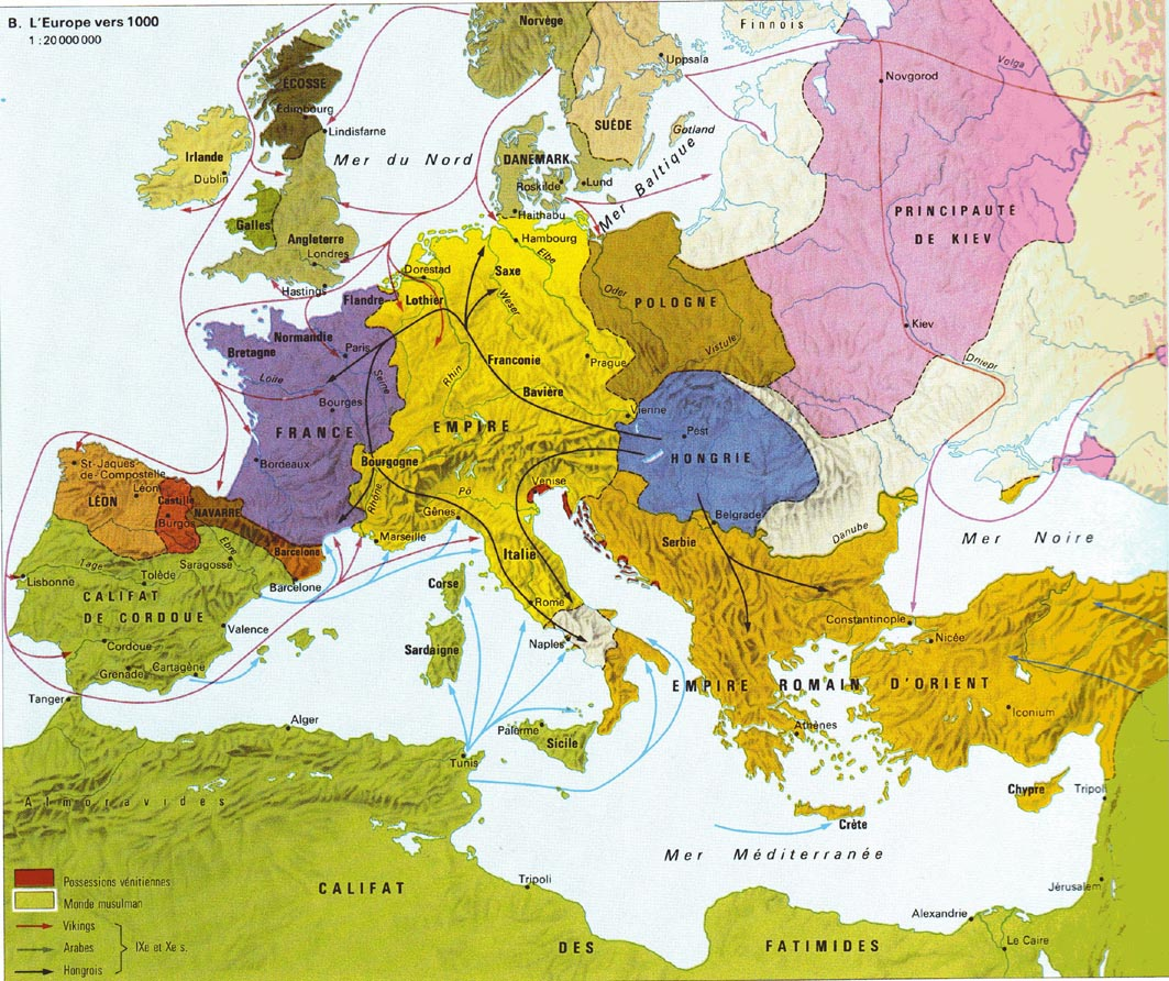 Carte Europe Medievale.Societes Et Cultures De L Europe Medievale Mdeforge