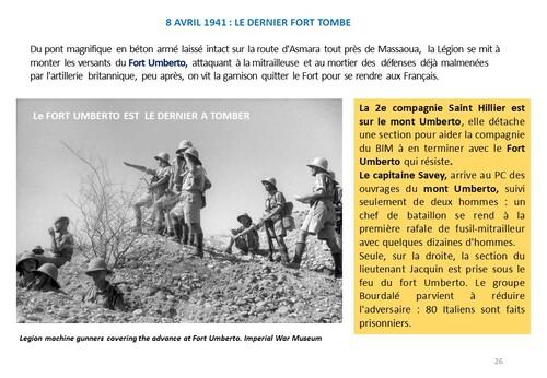 80e Anniversaire de la Campagne d'Erythrée (février-avril1941) - dernier épisode 7 : Et Massoua fut libéré !