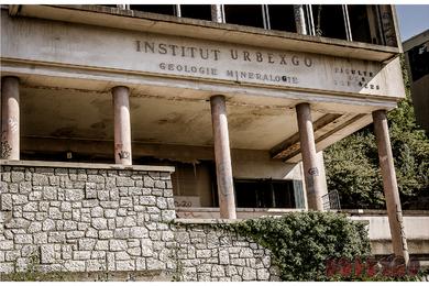 urbex université abandonnée