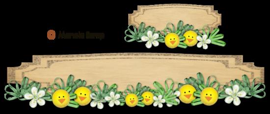 Boutons floral et décoratifs pour blogs page 3