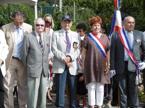 * 25 Août 2015 - La Ville de SOLLIES PONT(Var) a fêté sa Libération