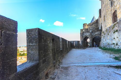 Porte de l'Aude, coté interieur