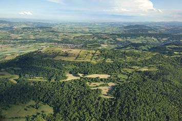 Plateau de Gergovie ...
