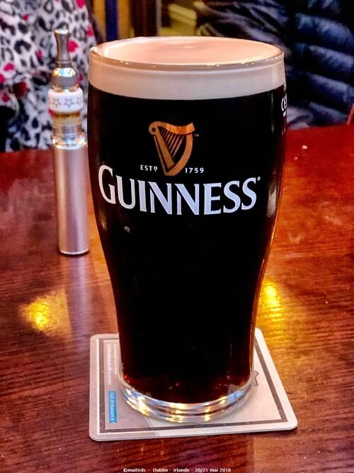 Dublin - Irlande (15 et fin) La célèbre bière
