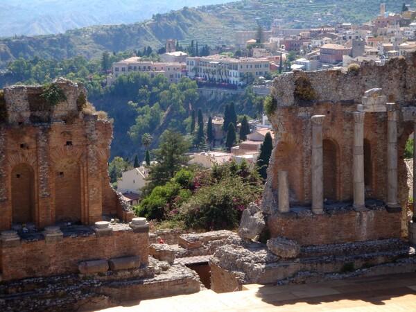 Le théâtre grec de Taormina (1)