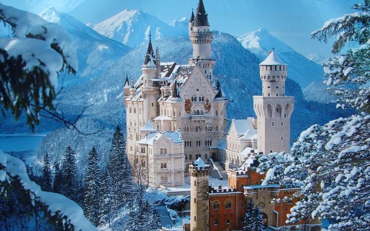 10 Images de châteaux et de palais
