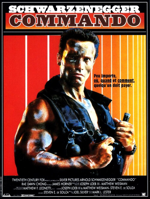 COMMANDO BOX OFFICE 1986