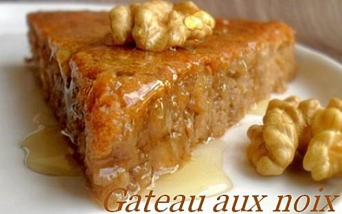 gateau aux noix et au miel